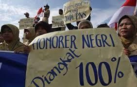 Honorer K2 Diminta Segera Diangkat Menjadi CPNS