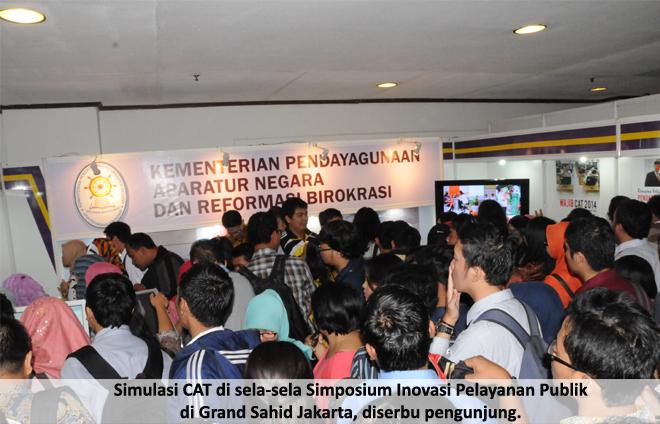 Banyak Permintaan Daerah Tentang Sosialisasi Simulasi CAT CPNS