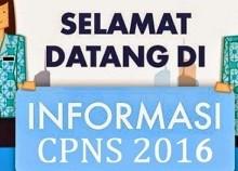 Info Persyaratan & Alur Pendaftaran CPNS Tahun 2016