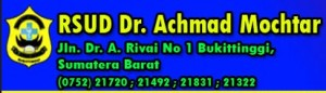 RSUD Achmad Mochtar