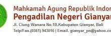 Lowongan Pengadilan Negeri Gianyar Bali