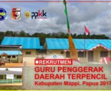 Pendaftaran Guru Penggerak Daerah Terpencil (GPDT) Kabupaten Mappi
