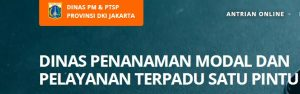 Lowongan Non PNS Dinas Penanaman Modal dan Pelayanan Terpadu Satu Pintu DKI Jakarta