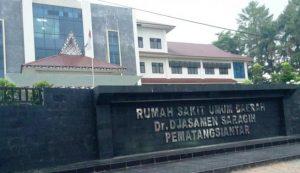 RSUD Dr. Djasamen Saragih Kota Pematangsiantar